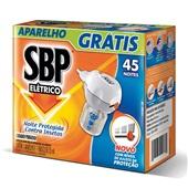Inseticida Elétrico Líquida 45 Noite Aparelho com Refil 35ml 1 UN SBP