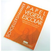 Papel Vegetal Escolar 60g A4 21x29,7cm 1 BL 50 FL Microservise