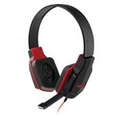 Headset Gamer com Microfone P2 Preto e Vermelho PH073 1 UN Multilaser