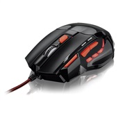 Mouse XGamer Perfomance Fire Button 2400 Dpi USB Vermelho MO236 1 UN Multilaser