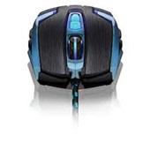 Mouse Gamer Warrior Ambistro 4000Dpi Preto e Azul MO252 1 UN Multilaser