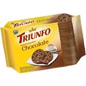 Biscoito Amanteigado Chocolate 330g PT 1 UN Triunfo