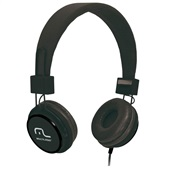 Headphone Fun com Microfone Haste Ajustável Preto PH115 1 UN Multilaser