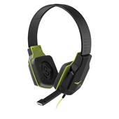 Headset Gamer com Microfone P2 Preto e Verde PH146 1 UN Multilaser