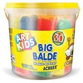 Massa de Modelar Art Kids Big Balde 1,500kg 30 UN Acrilex