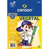 Bloco Vegetal A4 10 FL 1 UN Canson