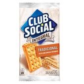 Biscoito Integral 144g PT 6 UN Clube Social
