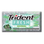 Goma de Mascar Sabor Herbal Fresh 8g 1 UN Trident