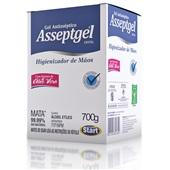 Álcool Gel Antisséptico Asseptgel Refil Aloe Vera 700g 1 UN Start Química