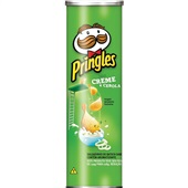 Batata Creme de Cebola 128g PT 1 UN Pringles