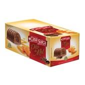 Pão de Mel com Cobertura de Chocolate 675g CX 15 UN Casa Suíça