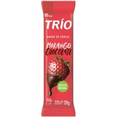 Barra de Cereais Morango com Chocolate 20g 1 UN Trio