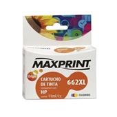 Cartucho de Tinta Color 11ml Compatível com N662XL HP CZ106AB 1 UN Maxprint