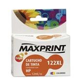 Cartucho de Tinta Color 12ml Compatível com N122XL HP CH564AB 1 UN Maxprint