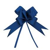 Laço Pronto Azul Liso 23mm 1230071 PT 10 UN Cromus