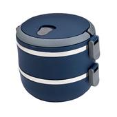 Marmita Lunch Box Azul 1 UN Euro