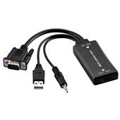 Conversor VGAM x HDMI F com Cabo de Áudio WI280 1 UN Multilaser