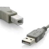 Cabo USB 2.0 A Macho X B Macho 3M Cinza 1,5x22x13cm 1 UN Multilaser
