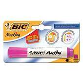 Pincel Marcador Quadro Branco Marking Fashion Rosa 1 UN Bic
