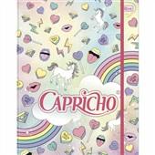 Caderno Argolado Cartonado 200x275mm 80 Folhas Capricho 1UN Tilibra