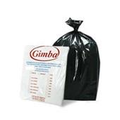 Saco de Lixo Econômico 105L Preto 75x100cm 0,006 PT 100 UN Altaplast
