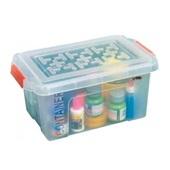 Caixa Organizadora Container 4,25L Cristal 27,5x17x13,5cm 1 UN São Bernardo