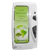 Dispenser para Papel Higiênico Interfolhado Branco 1 UN Fortcom