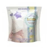 Lenço Higiênico Umedecido Infantil Refil 400 UN Isababy