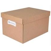Caixa Organizadora Kraft Grande 43,7x31x24cm 1 UN Polibras