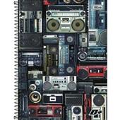 Caderno Universitário Capa Flexível 10 Matérias 200 FL Mais B 1 UN Tilibra
