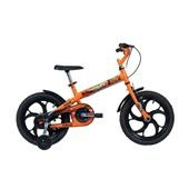 Bicicleta Aço Power Rex Aro 16 Laranja 1 UN Caloi