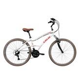 Bicicleta Alumínio 400 Feminina Aro 26 Branco 1 UN Caloi