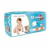 Fralda Descartável Pacote Mega G PT 42 UN Mascot Baby