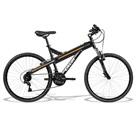 Bicicleta Alumínio T-Type Aro 26 Preto Fosco 1 UN Caloi