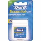 Fio Dental Essential Floss Encerado 50m Oral-B