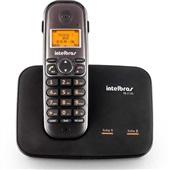 Telefone sem Fio para 2 Linhas Identificador de Chamadas Viva Voz DECT 6.0 TS 5150 Intelbras