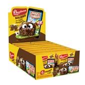 Bolinho de Chocolate Recheio Chocolate 40g cada CX 14 UN Bauducco