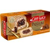 Bolo Avelãs com Chocolate Suíço Premium 270g PT 1 UN Casa Suíça
