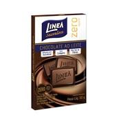 Chocolate ao Leite Zero 30g CX 1 UN Linea