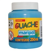 Tinta Guache Azul Celeste 250ml Maripel