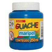 Tinta Guache Azul Turquesa 250ml Maripel
