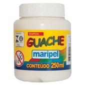Tinta Guache Branco 250ml Maripel