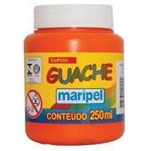 Tinta Guache Laranja 250ml Maripel