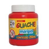 Tinta Guache Vermelho 250ml Maripel