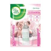 Odorizador de Ambiente 12ml Refil Click Spray Cheirinho de Talco 1 UN Bom Ar