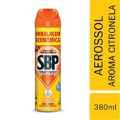 Multi Inseticida Citronela Embalagem Econômica 380ml 1 UN SBP