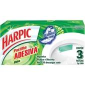 Pastilha Sanitária Adesiva 9g Cada Pinho 3 UN Harpic
