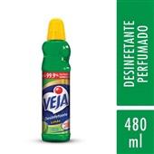 Desinfetante 480ml Limão 1 UN Veja