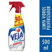 Limpa Vidros Vidrex Cristal 500ml com 30% de Desconto 1 UN Veja