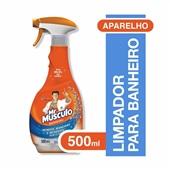 Limpador para Banheiro Total 5 em 1 500ml sem Cloro 1 UN Mr. Músculo